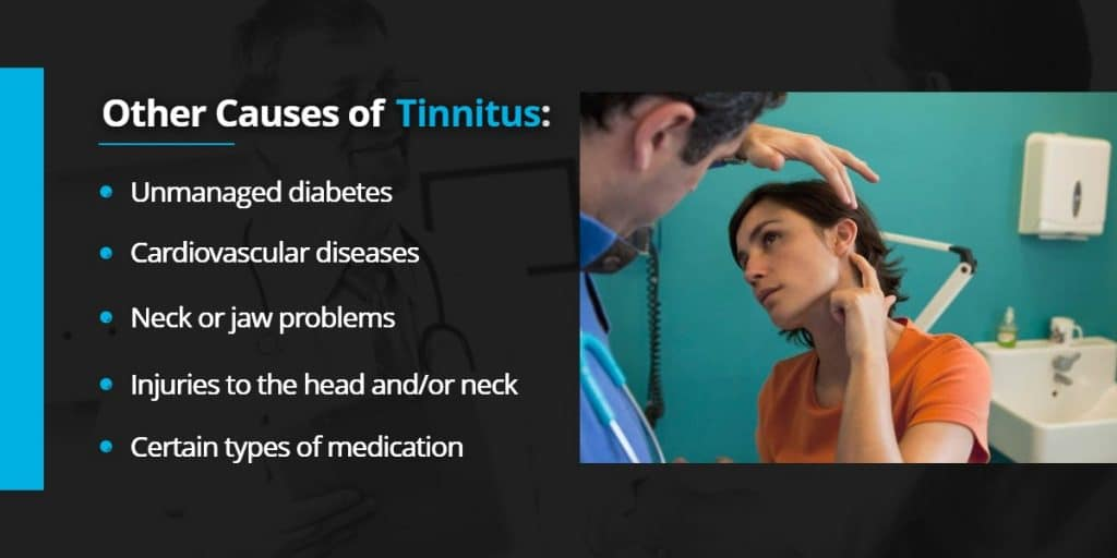 Other causes of Tinnitus | Echo Audiology