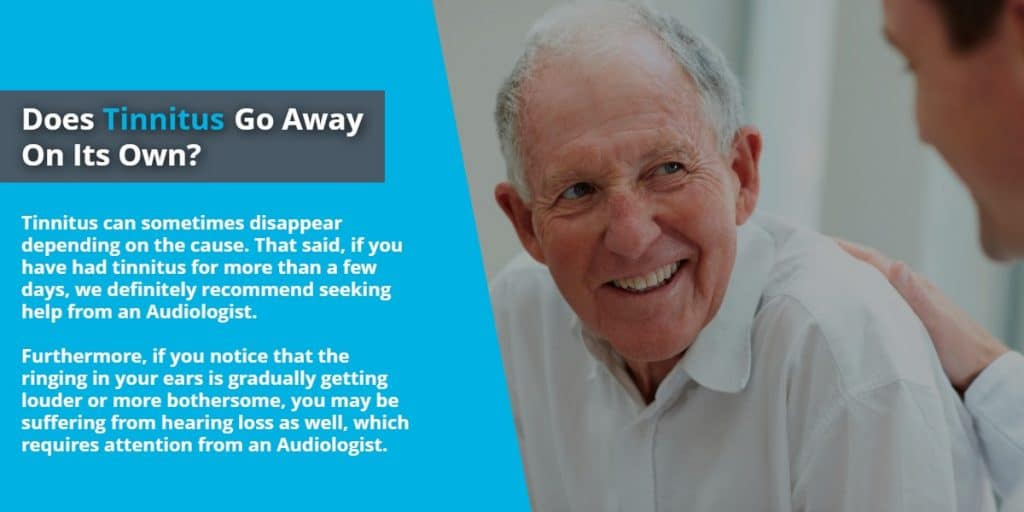 Does Tinnitus go away on its own? | Echo Audiology
