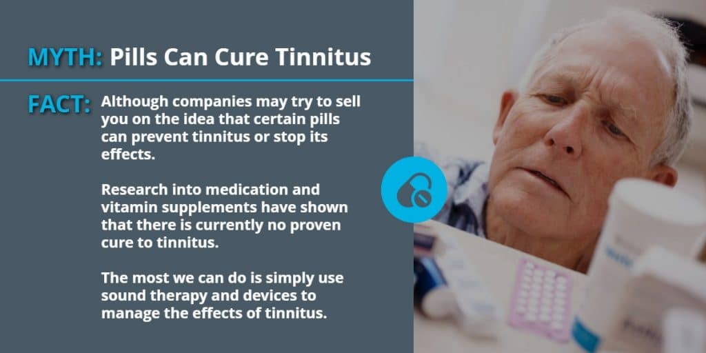 Pills Can Cure Tinnitus | Common Misconceptions About Tinnitus | Echo Audiology